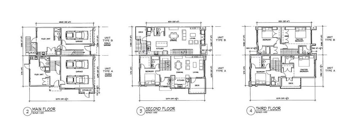 Townhomes planned for 2130 sooke road the city of colwood for Floor plans victoria bc