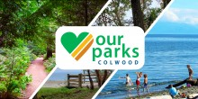 our parks banner collage