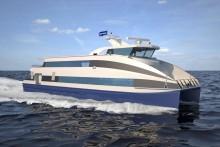 west shore passenger ferry catamaran