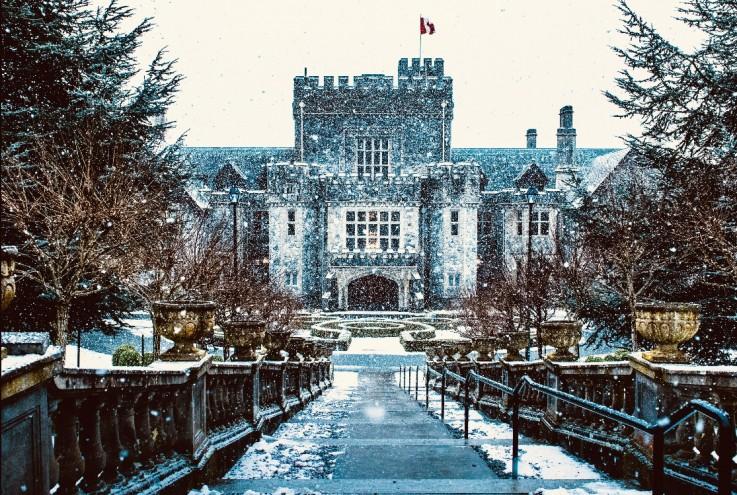 Hatley Castle fairytale