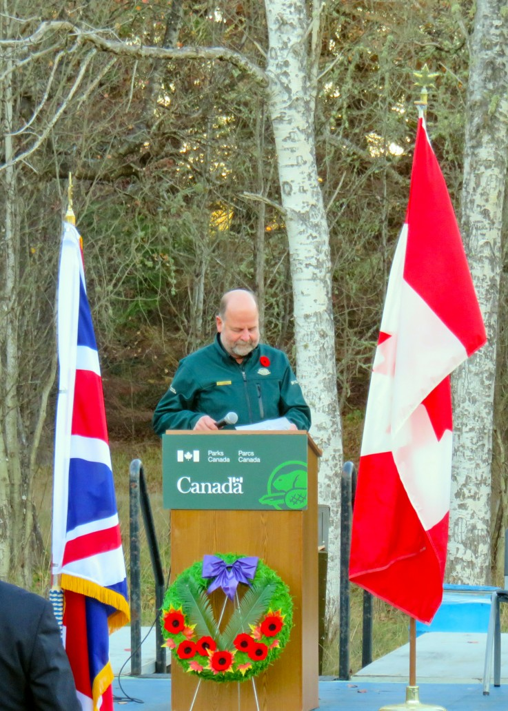 Remembrance Day at Fort Rodd Hill 2018