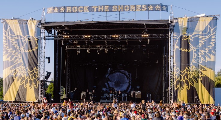 Rock the Shores music festival in Colwood