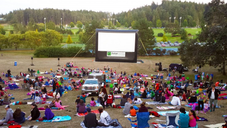 Movies on the Hill at West Shore Parks & Recreation in Colwood